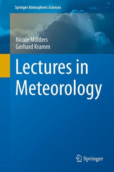 Lectures in Meteorology PDF