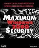 Maximum Windows 2000 Security