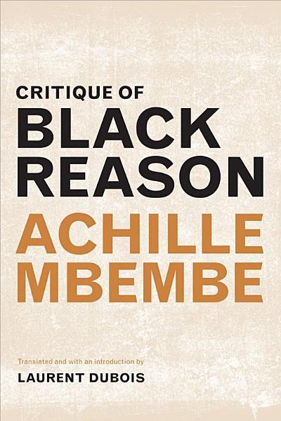 Download Critique of Black Reason Book