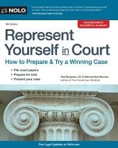 Represent Yourself in Court: Edition 8