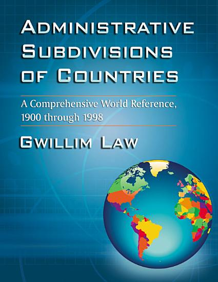 Administrative Subdivisions of Countries PDF