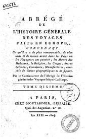 Abrege de L'Histoire Generale