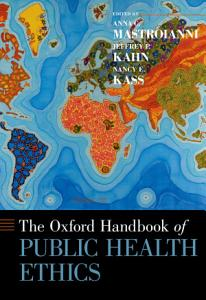 The Oxford Handbook of Public Health Ethics PDF