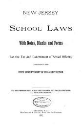 New Jersey School Laws ...
