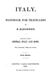 Italy, Handbook for Travellers: Central Italy and Rome