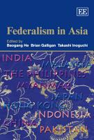 Federalism in Asia PDF