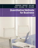 Quantitative Methods for Business (Book Only)