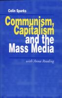 Communism  Capitalism and the Mass Media PDF