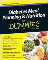 Diabetes Meal Planning and Nutrition For Dummies PDF