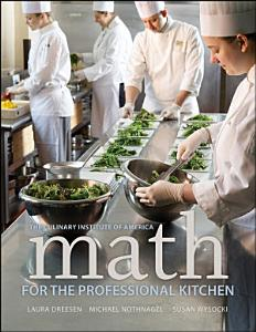 Math for the Professional Kitchen Book