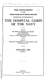 Hospital Corps Quarterly: Volumes 12-19