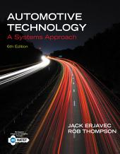Automotive Technology: A Systems Approach: Edition 6