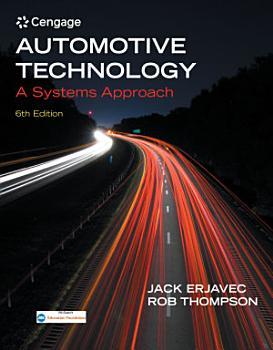 Automotive Technology  A Systems Approach PDF