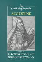 The Cambridge Companion to Augustine PDF
