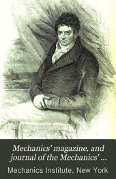 Mechanics' Magazine, and Journal of the Mechanics' Institute: Volume 4