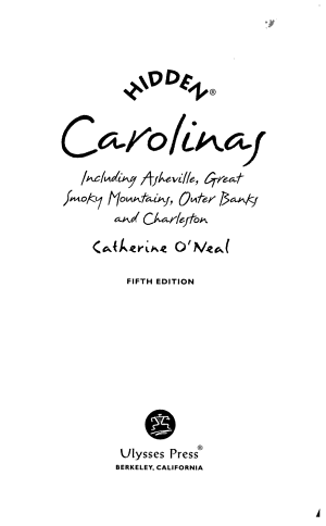Hidden Carolinas PDF