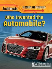 Who Invented the Automobile?