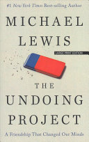 The Undoing Project Book