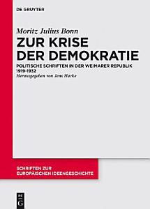Zur Krise der Demokratie PDF