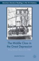 The Middle Class in the Great Depression PDF