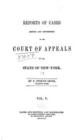 Reports of Cases Decided in the Court of Appeals of the State of New York: Volume 19