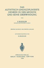 Das Autistisch-Undisziplinierte Denken in der Medizin und Seine Überwindung: Ausgabe 5