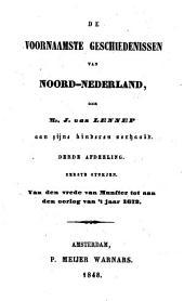 De voornaamste geschiedenissen van Noord-Nederland