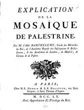 Explication de la mosaïque de Palestrine: Volume 6