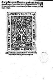 Epigra[m]mata ac Ludicra quedam facilioris mule carmina eruditissimi viri Philippi Beroaldi
