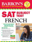 Barron's SAT Subject Test French with Audio CDs