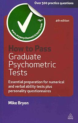 How to Pass Graduate Psychometric Tests PDF