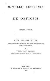 De Officiis Libri Tres