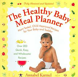 The Healthy Baby Meal Planner Book PDF