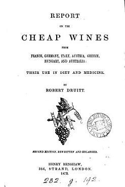 Report on the cheap wines from France  Italy  Austria  Greece  and Hungary PDF