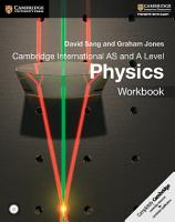 Cambridge International AS and A Level Physics Workbook with CD ROM PDF