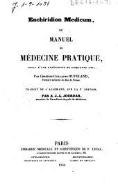 Enchiridion medicum ou manuel de médecine pratique fruit d'une expérience de cinquante ans