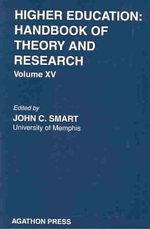 Higher Education  Handbook of Theory and Research 15 PDF
