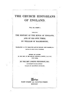 The Church Historians of England