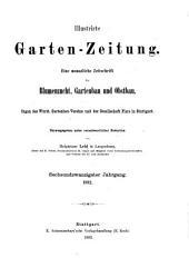 Illustrirte Garten-Zeitung: Band 26