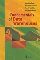 Fundamentals of Data Warehouses PDF