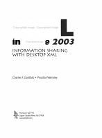 XML in Office 2003 PDF