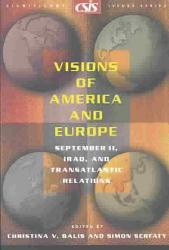 Visions Of America And Europe Book PDF