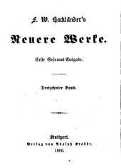 F. W. Hackländer's neuere Werke