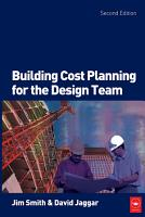 Building Cost Planning for the Design Team PDF