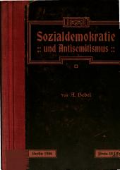 Sozialdemokratie und Antisemitismus: Rede auf dem sozialdemokratischen Parteitage in Berlin : mit zwei Nachträgen