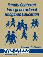 Family-Centered Intergenerational Religious Education