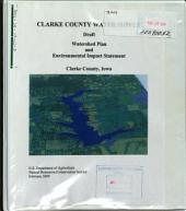 Clarke County Water Supply, Watershed Plan: Environmental Impact Statement