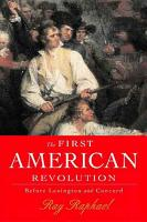 The First American Revolution PDF