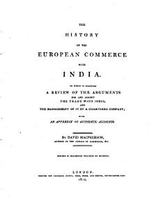 The history of the European commerce with India PDF
