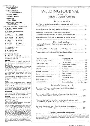 Welding Journal PDF
